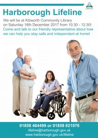 Drop in for advice on staying independent at home Saturday 16th December