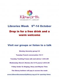 National Libraries Week 9-14th October