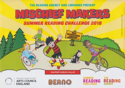 This year's Summer Reading Challenge started on Saturday 7th July