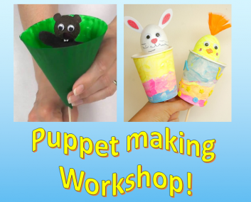 Puppet Making Workshop – Tues 21st August