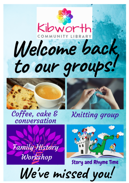 Our groups are back!